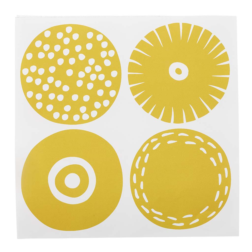 Yellow Candy Paper napkins