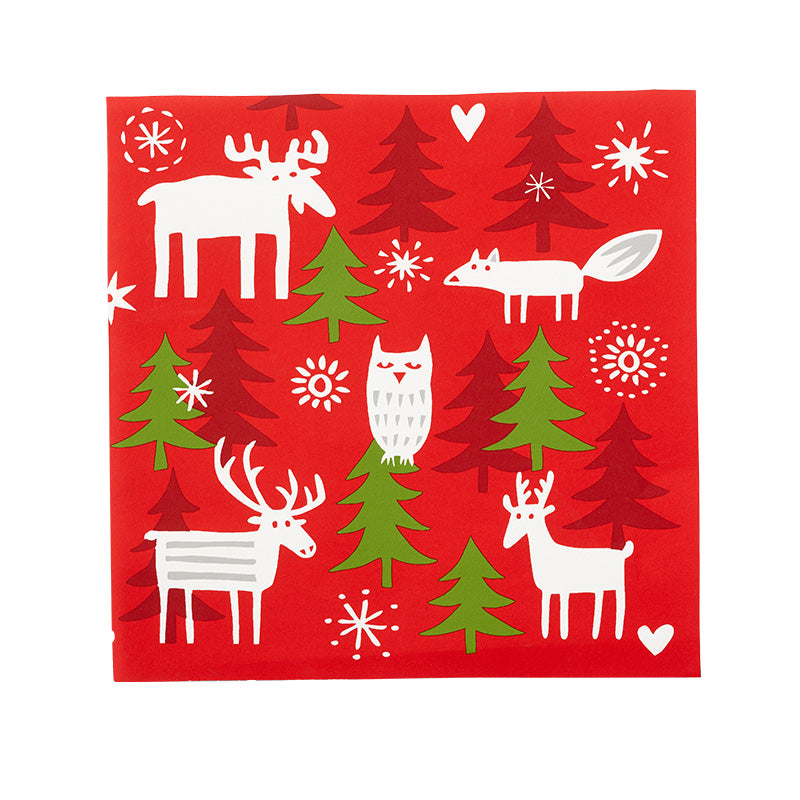 Christmas Forest Paper napkins