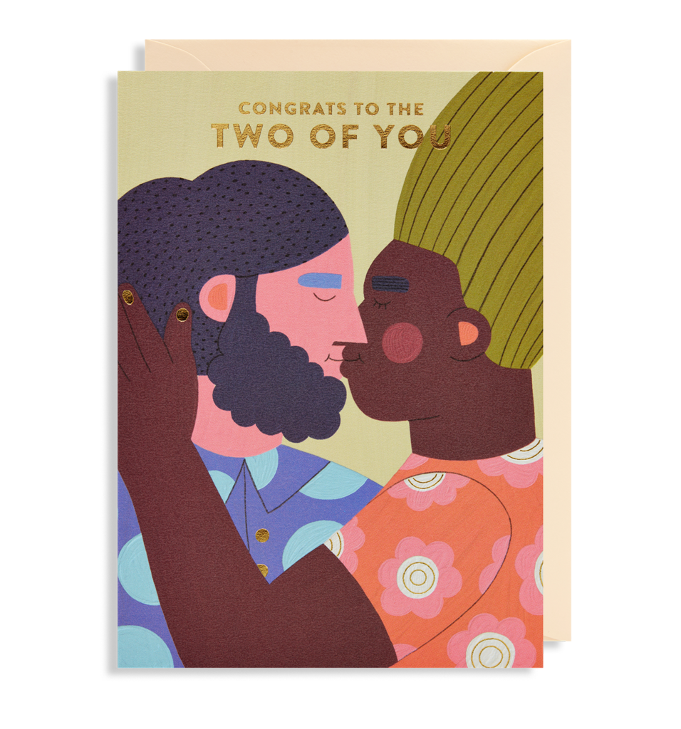 Two Of You Greetings Card