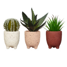 Load image into Gallery viewer, Small Speckled Leggy Planter