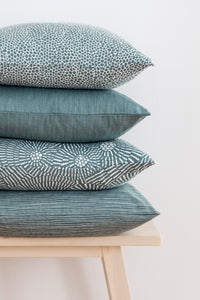 Klotz Cushion/cover - Smokey blue