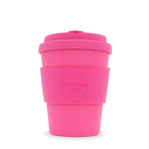 Pink Reusable Bamboo Coffee Cup