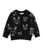 Load image into Gallery viewer, Just Call Me Fox sweatshirt - Black