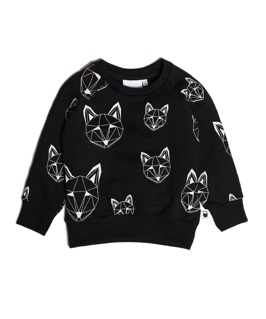 Just Call Me Fox sweatshirt - Black