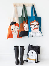 Load image into Gallery viewer, Spira Friends tote bag - Bosse