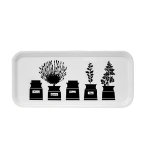Herb Garden Birch Drinks Tray