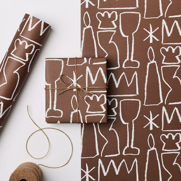 Aeand Rust gift wrap