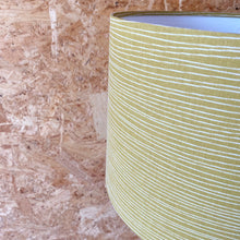 Load image into Gallery viewer, Line Lampshade - Mustard