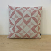 Load image into Gallery viewer, Pink Geometric Cushion/Cover