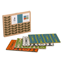 Load image into Gallery viewer, 60s Stem Place Mats x4 Set