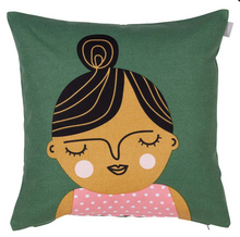 Load image into Gallery viewer, Spira Friends Cushion/cover - Esmeralda