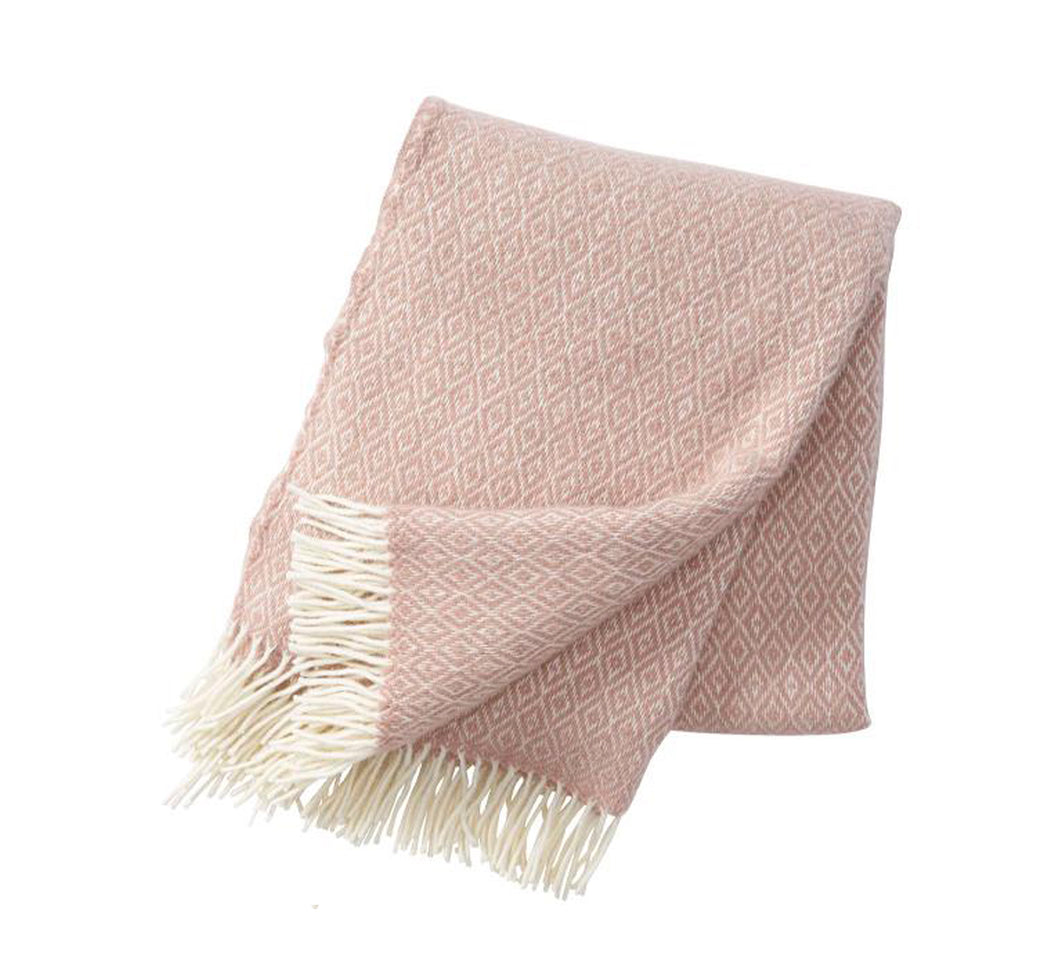 Stella Wool Throw/Blanket - Nude