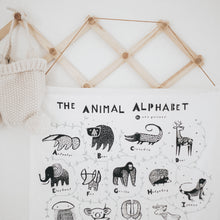 Load image into Gallery viewer, Animal Alphabet Wall Hanging