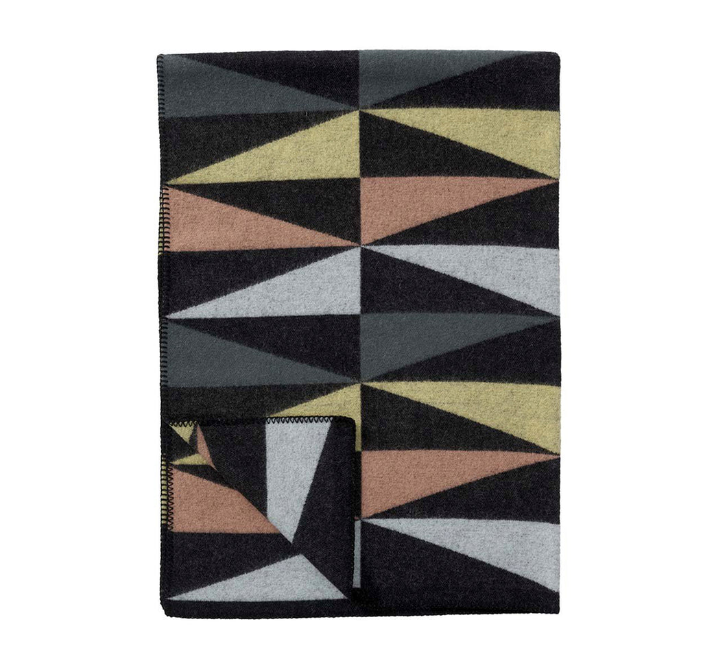 Art Deco Pure Wool throw/blanket