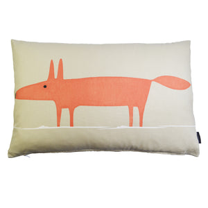 Mr Fox cushion/cover - Beige
