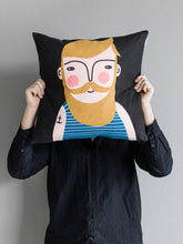 Load image into Gallery viewer, Spira Friends cushion/cover - Frank