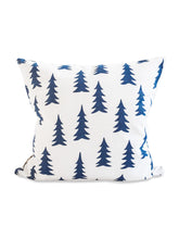 Load image into Gallery viewer, Gran cushion/cover - White/Midnight Blue