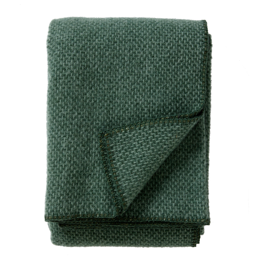 Domino throw/blanket Green