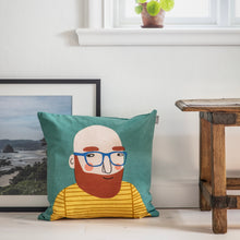 Load image into Gallery viewer, Spira Friends cushion/cover - Michael