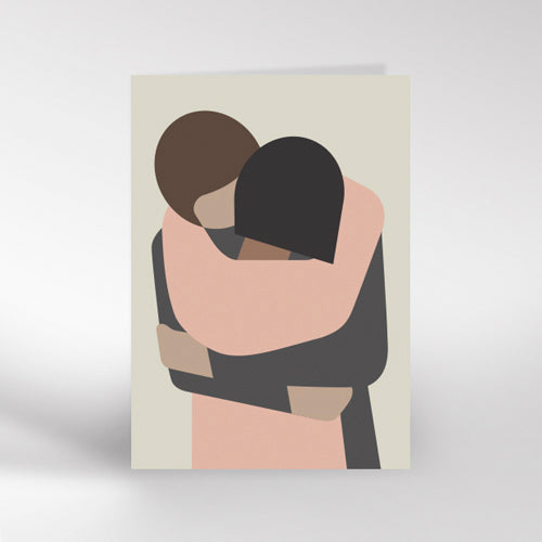 Hug Greetings Card