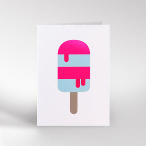 Lolly foil Card