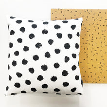 Load image into Gallery viewer, Monochrome spot cushion cover
