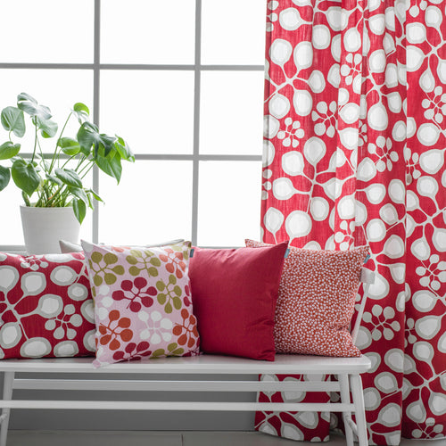Sedum fabric - Raspberry