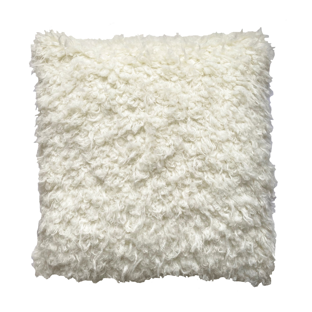Faux Sheep Fur cushion