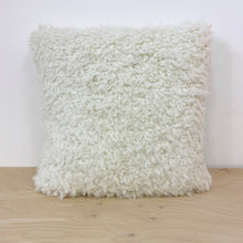 Load image into Gallery viewer, Faux Sheep Fur cushion