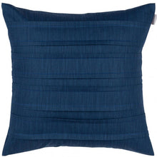 Load image into Gallery viewer, Pleated Dubbelveck Klotz cushion/cover - Marine