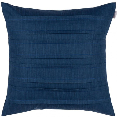 Pleated Dubbelveck Klotz cushion/cover - Marine