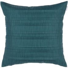 Load image into Gallery viewer, Pleated Dubbelveck Klotz cushion/cover - Dark Green