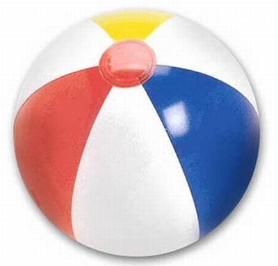 Beach Ball 20 Inch (6-Pack)