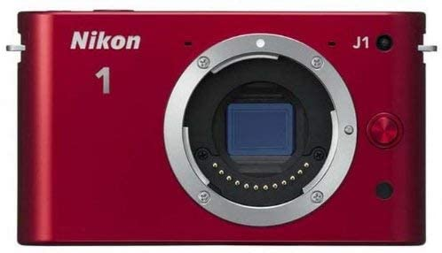 Nikon 1 J1 10.1 MP HD Digital Camera Body Only (Red)