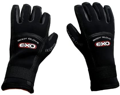 Body Glove 5mm Exo Five Finger Glove, Small