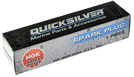 Quicksilver 859495Q NGK LFR5A-11 V-Power Spark Plug, 1-Pack