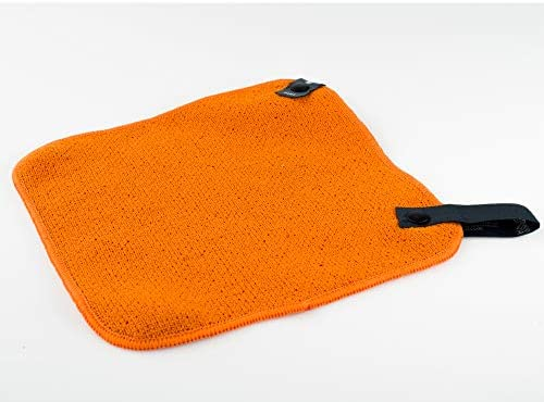 "GSI Outdoors 90022 Camp Dish Cloth, Large, 8.8"" x 8.8"", Orange"