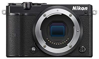 Nikon 1 J5 Mirrorless Digital Camera (Black Body Only) International Version (No Warranty)