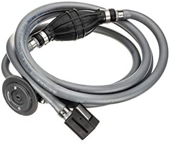 Quicksilver 8M0061084 Fuel Line Assembly - 9 Feet Long with Fuel Demand Valve - Bulb - Connections