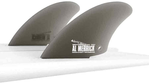 Future Fins AMK Glass Twin Keel Smoke