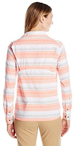 Columbia Women's Pilsner Peak Stripe Long Sleeve Shirt