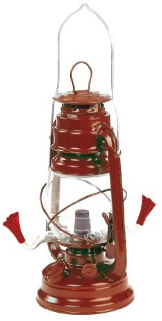 Outside Inside Hurricane Lantern Hummingbird Feeder for Outdoors and Rustic Yard Decor