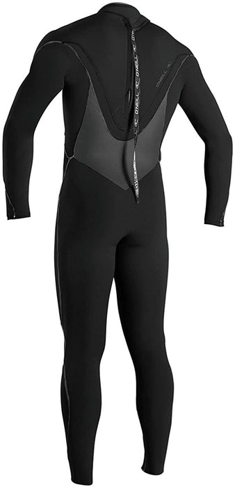 O'Neill Psycho Freak 3/2MM Back-Zip Full Wetsuit - Men's Black/Black/Black:Black, S