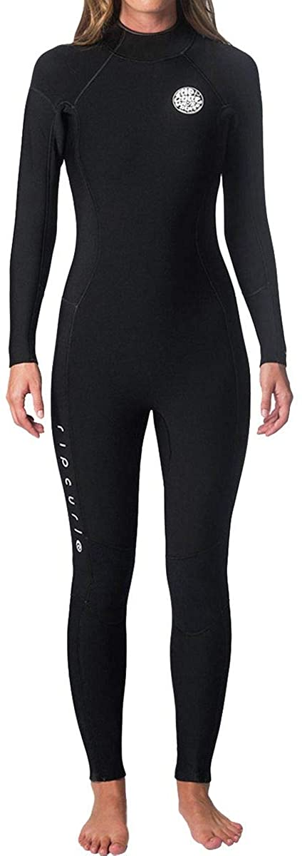 Rip Curl Women's Dawn Patrol Back Zip 4/3 Wetsuit
