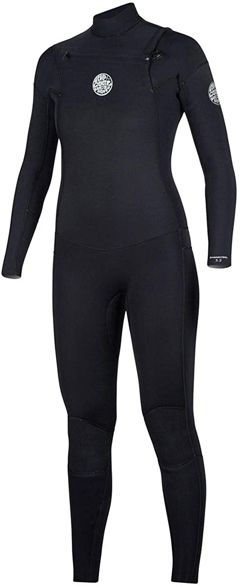 Rip Curl Women's Dawn Patrol Chest Zip 3/2 Wetsuit