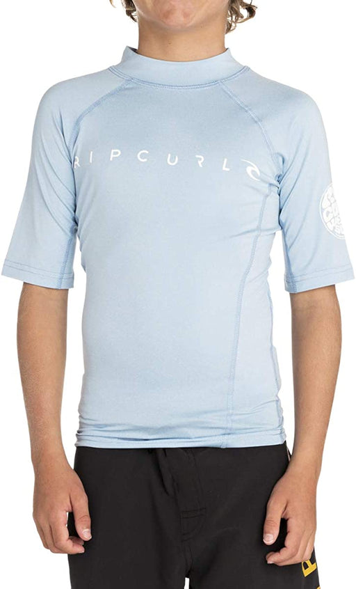 Rip Curl Boys Dawn Patrol Short Sleeve Rash Guard
