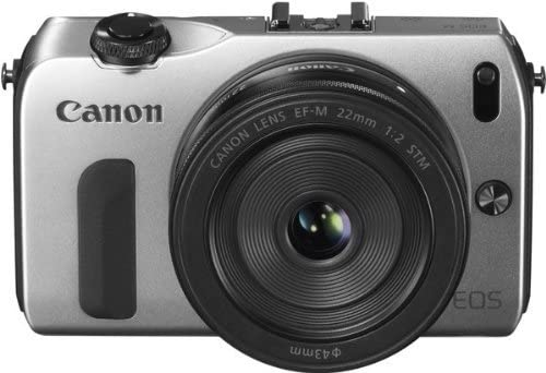 Canon EOS-M Mirrorless Digital Camera with EF-M 22mm f/2 STM Lens Silver
