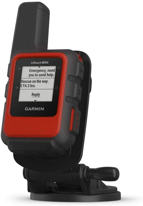 Garmin inReach Mini Marine Bundle, Lightweight and Compact Handheld Satellite Communicator with Screw Down Mount