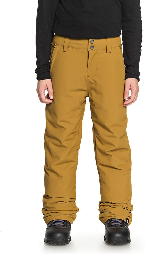Quiksilver Boys' Big Estate Youth 10k Snow Pants