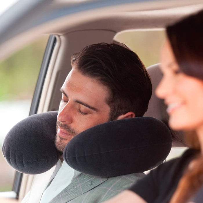 Intex Inflatable Travel Pillow Head Rest Cushion